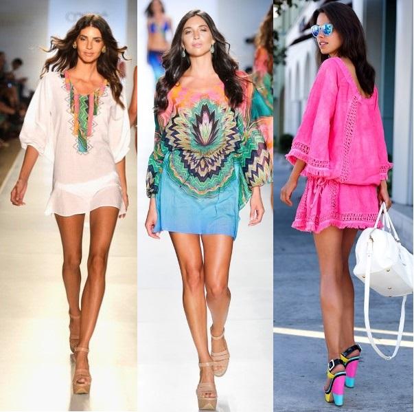 Пляжные платья и сарафаны весна-лето 2014 изоражения