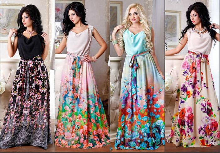Модные платья фото лето 2016