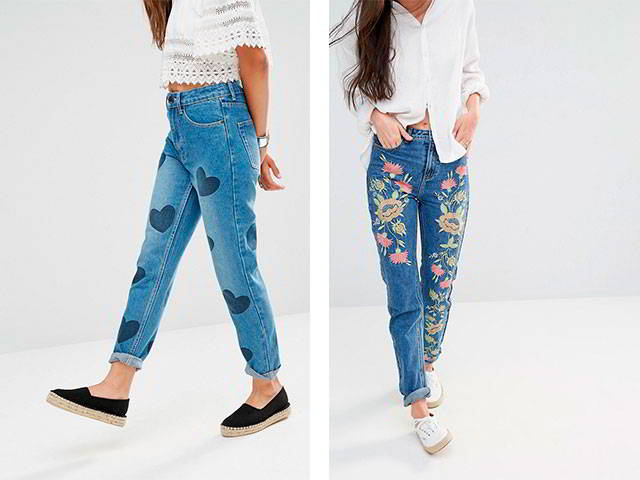 d3e3e93cc2d Модные женские джинсы 2017 на весну
