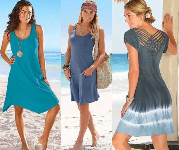 Модные пляжные платья 2015: как стать