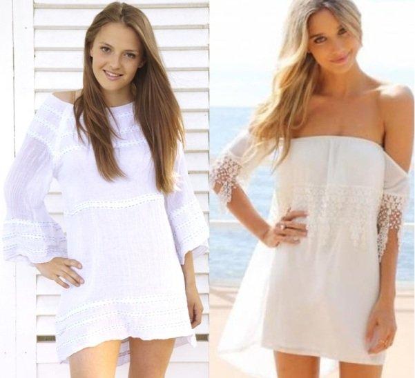 пляжные платья 2014 года на фото