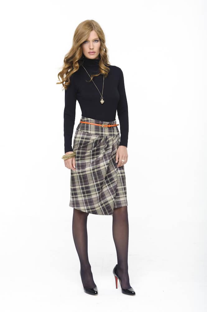 Комбинированные юбки