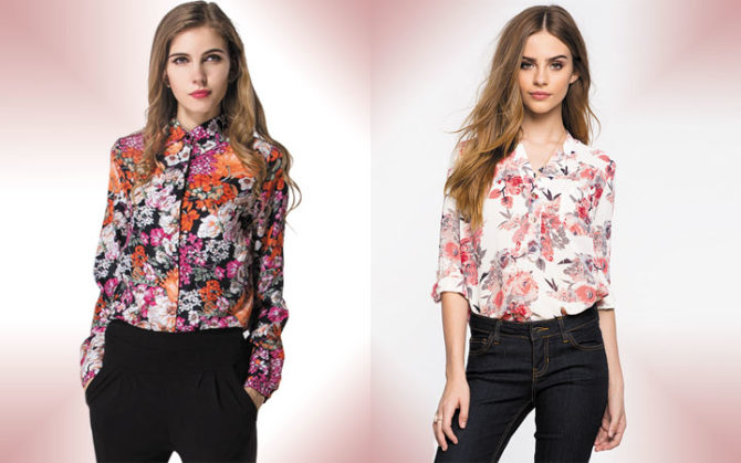 Модные Блузки Женские