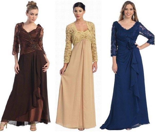 вечерние платья в стиле ампир на фото