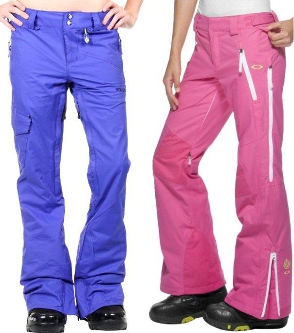 женсике зимние брюки на фото