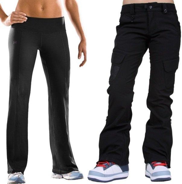 теплые женские брюки на зиму