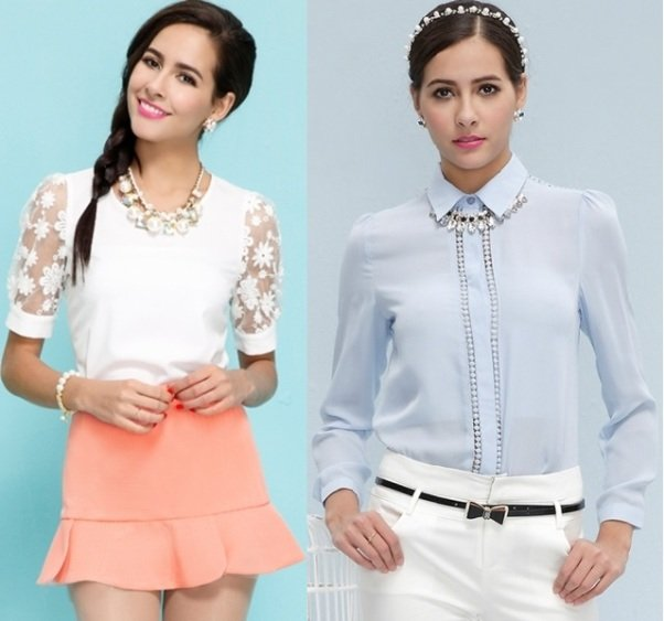 Модные Блузки 2014 Года