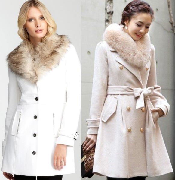 фото зимних женских пальто