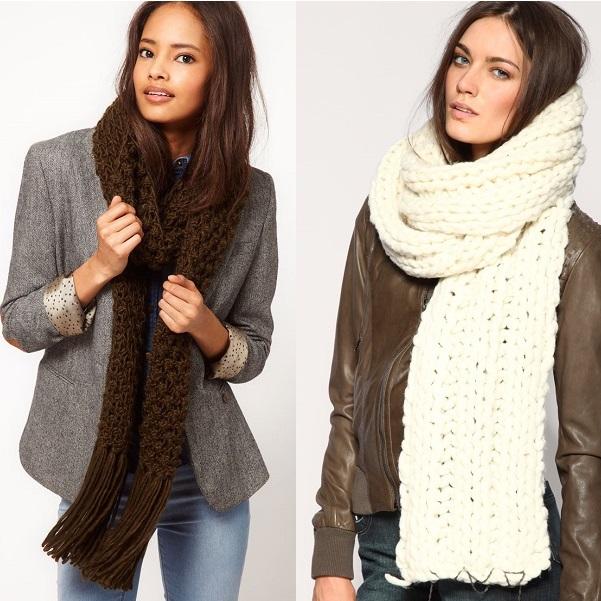 c738bb1c342 Модные шарфы на сезон осень-зима 2017 года - тенденции с фото