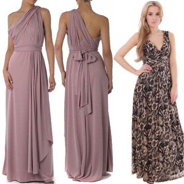 на фото вечерние платья в греческом стиле