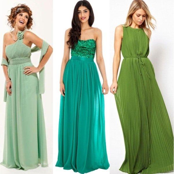 Вечерние платья в греческом стиле на