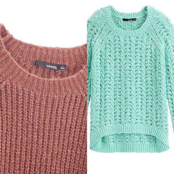 Вязаный свитер женский 2017