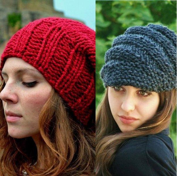 фото вязанных женских шапок