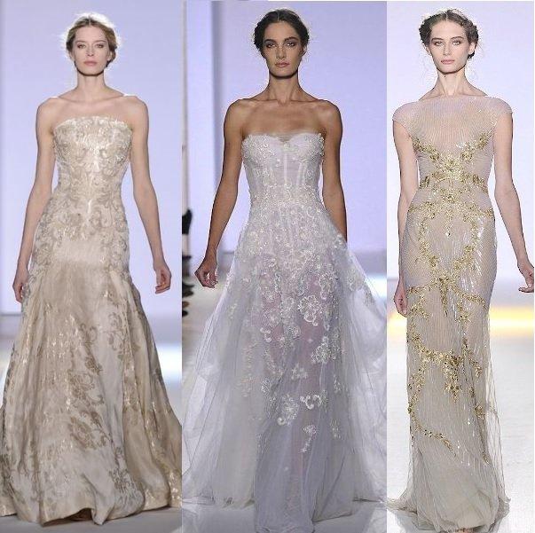 свадебные платья зухаир мурад на фото