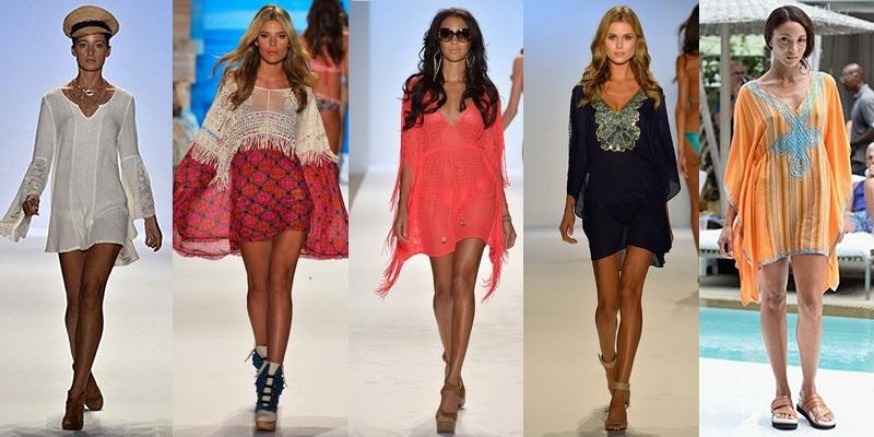 Мода весна туники платья