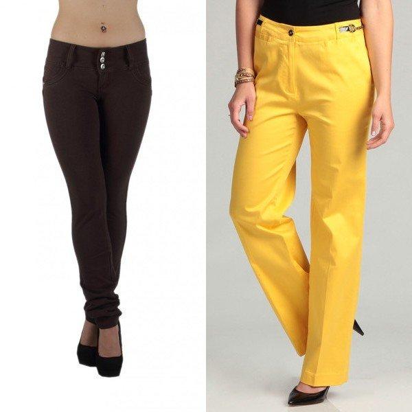 модели женских брюк на фото