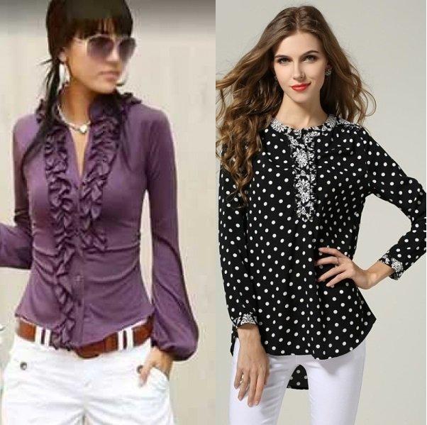 5 ноя 2014 Модные блузки 2015 весна лето - 15 тенденций Деним - это материал, который наверняка найдется в