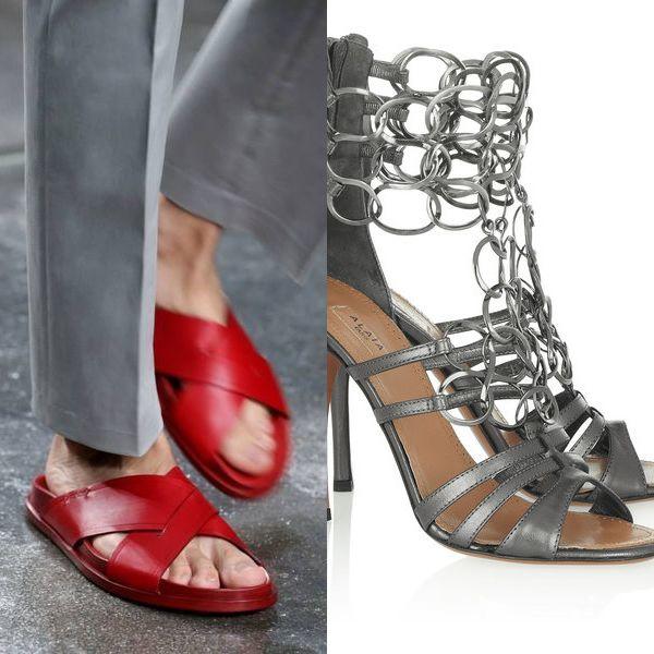 фото модной обуви на весну