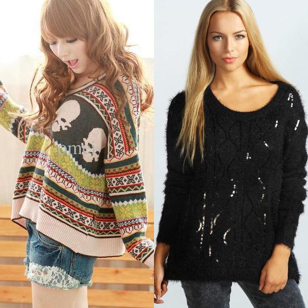 модные пуловеры на фото