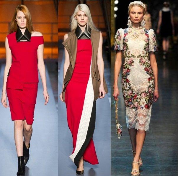 фото стилев платьев