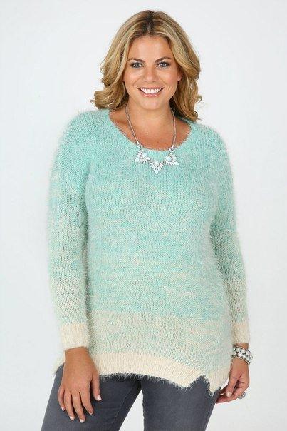Вязаные пуловеры для полных женщин с доставкой