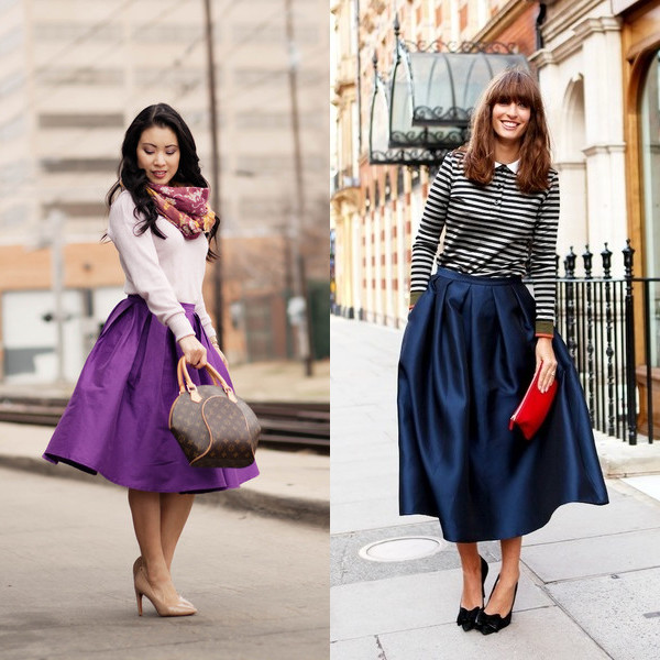 Как называется модная юбка