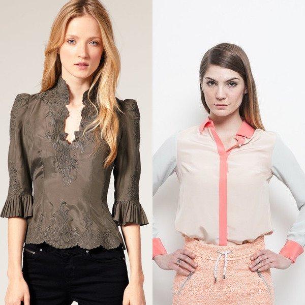 Модные Блузки 2014 Купить В Воронеже