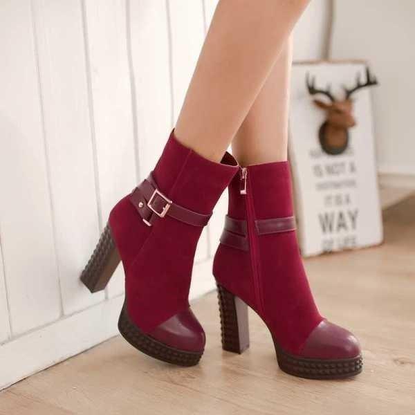 женские ботинки на весну на фото