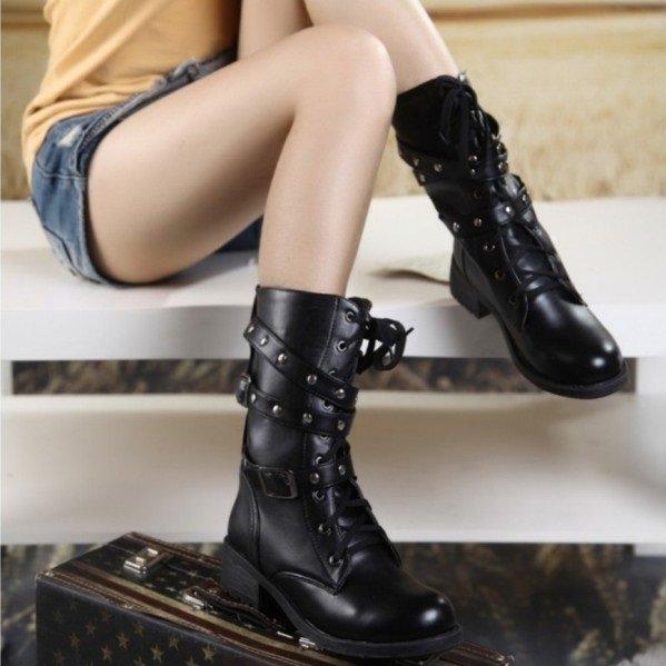 Посмотрите модные женские ботинки на весну на фото a61d569e09c86