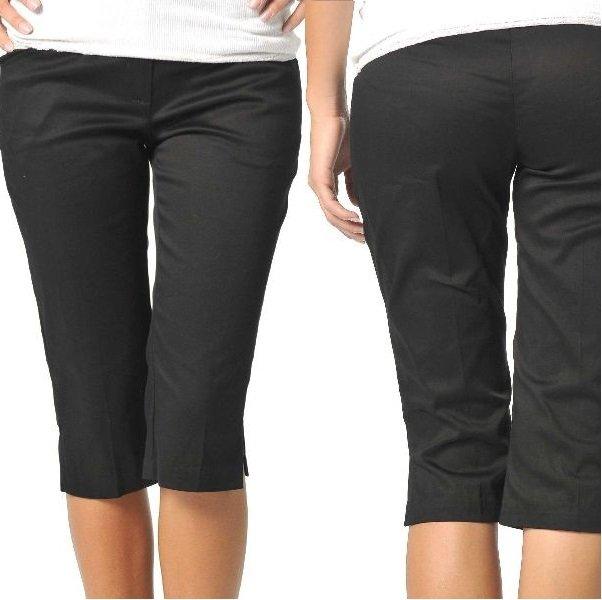 деловые брюки капри на фото