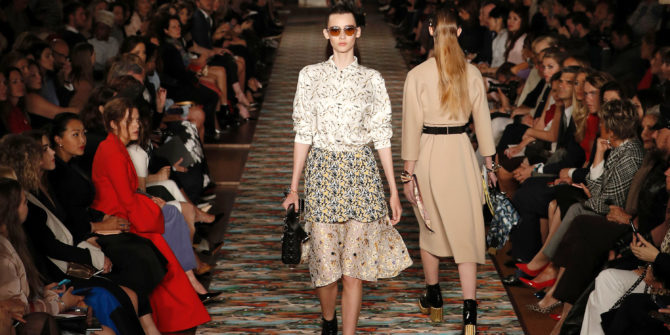 Показ круизной коллекции Dior