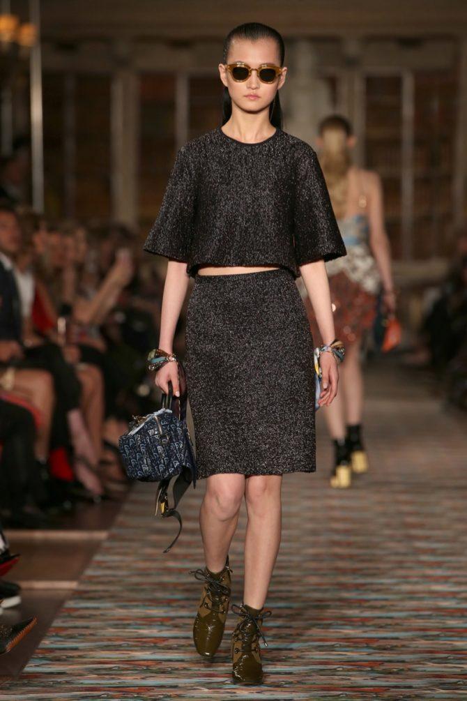 Платье из круизной коллекции Dior