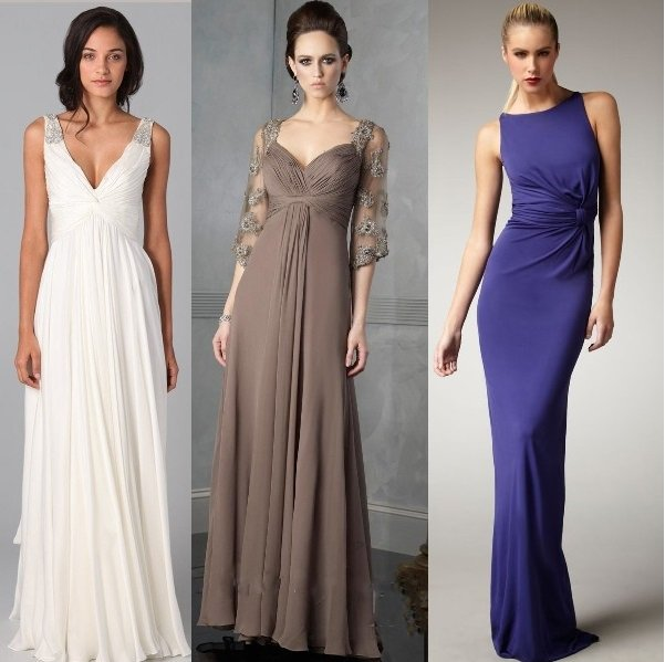 Вечерние длинные платья легкие