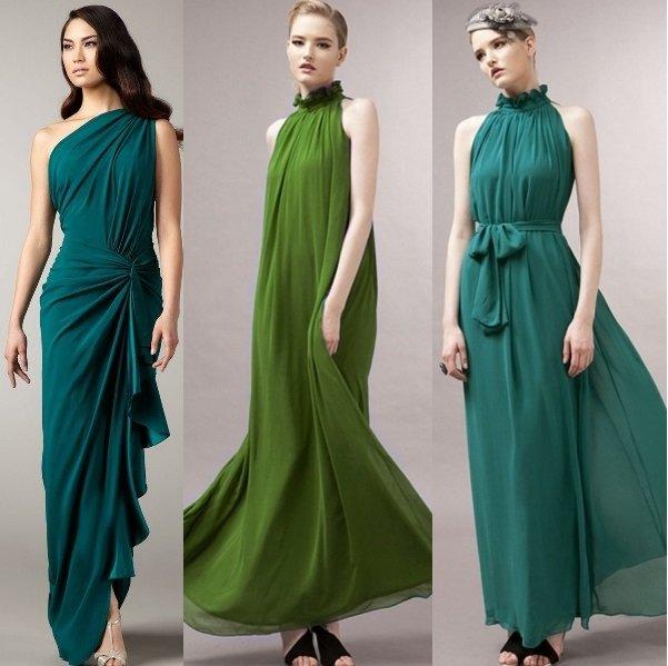Шифоновые платья 2017