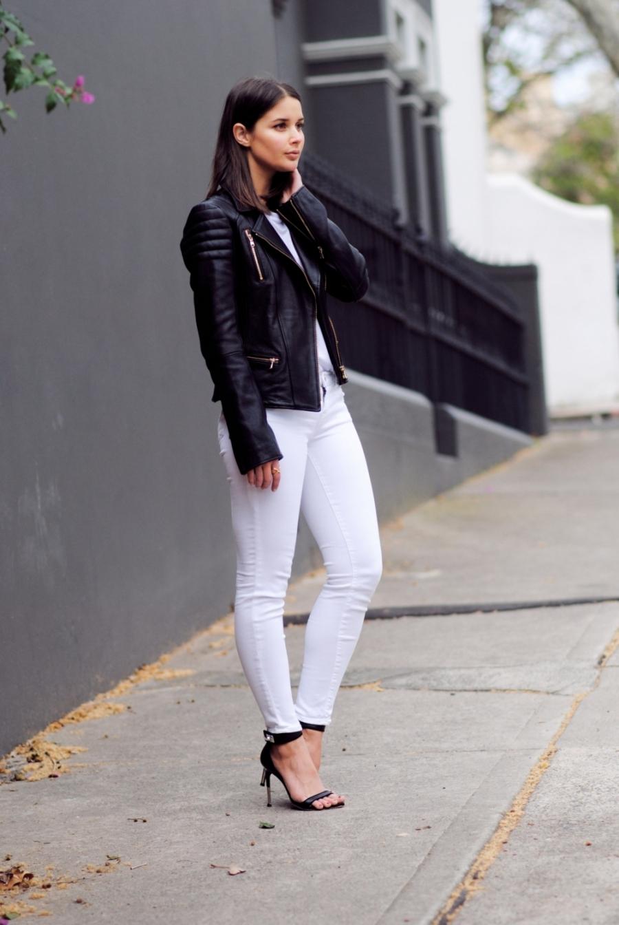 модели в кожаных джинсах фото hd