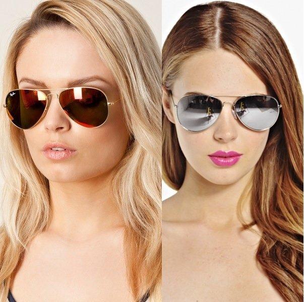 очки-авиаторы на фото
