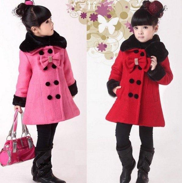 пальто для девочки на фото