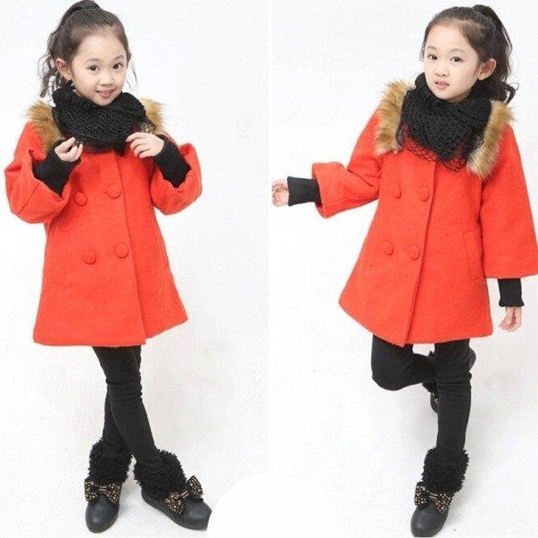 фото детского пальто для девочки
