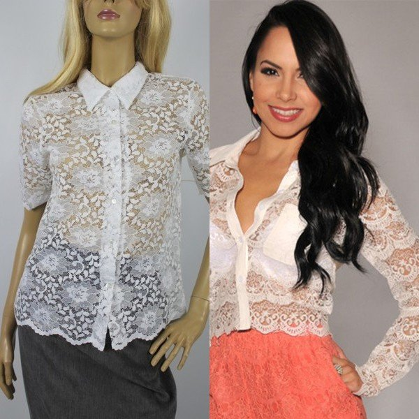 Блузка с шипами с доставкой