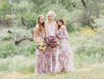 Платья с цветочным принтом — один из главных модных трендов 2017 года
