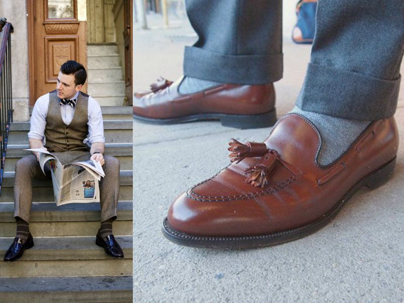 Лоферы и носки
