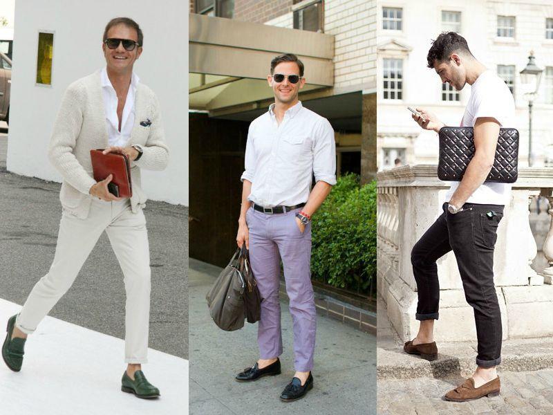 Лоферы - обувь, которую носят без носков