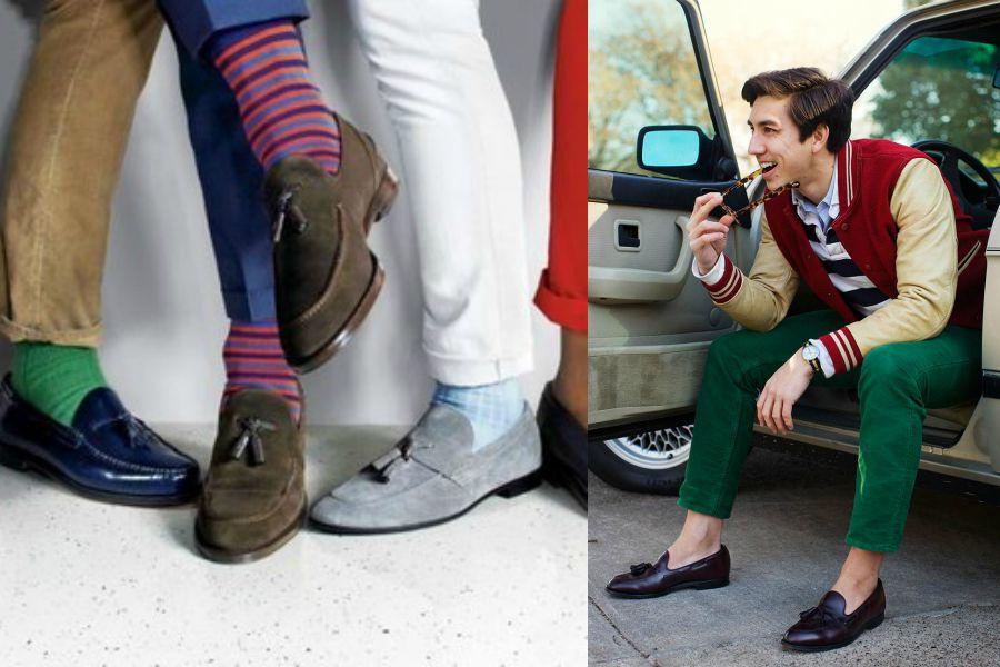 Лоферы - обувь стиляг