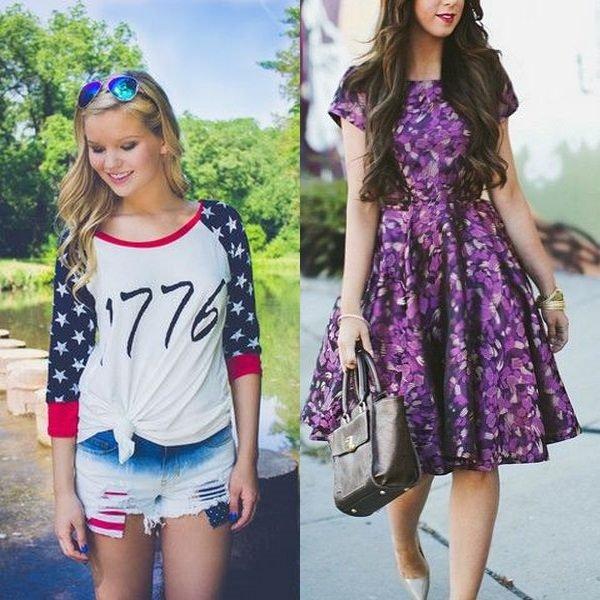 1e958a5d5fa Цветочные подростковые платья и джинсовые сарафаны – это очень интересные и  стильные вещи
