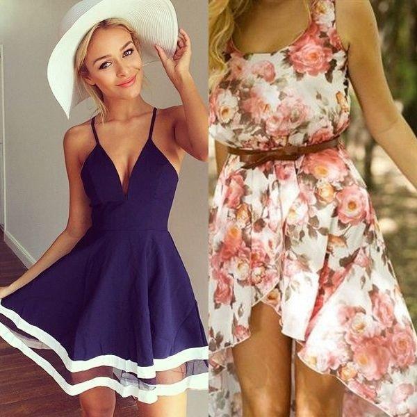 легкий крой летних платьев и сарафанов