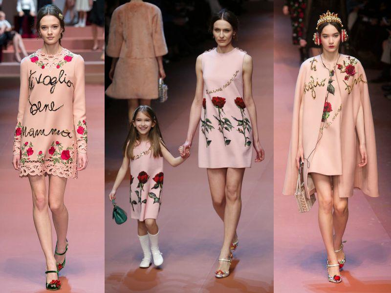 Cashmere Rose в осенней коллекции Dolce&Gabbana