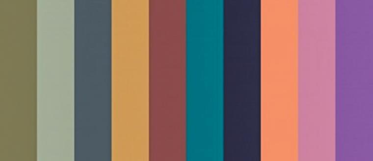 Модная палитра 2015-2016 от института цвета Пантон