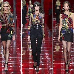 Принты Versace 2015-2016 осень-зима