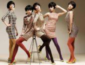 Девушки в одежде стиля 70 годов