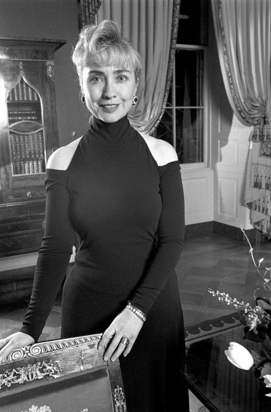 Первая леди в платье от Донны Каран.
